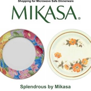 Hallkraft Styled by Mikasa Splendrous Dinner Plate